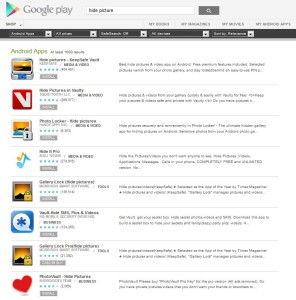 Developers exploit flaws in the search engine by appending keywords to their app titles.